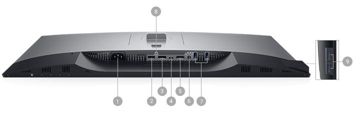 Dell U2719DC Monitör Bağlantı Seçenekleri