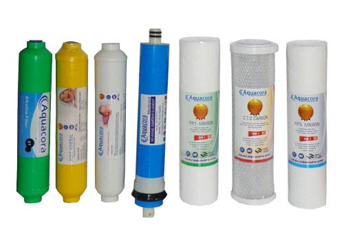 Aquacora Su arıtma cihazı Filtreleri