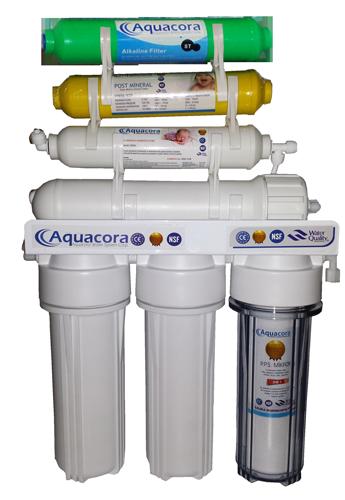 Aquacora 7 aşamalı pompasız su arıtma cihazı