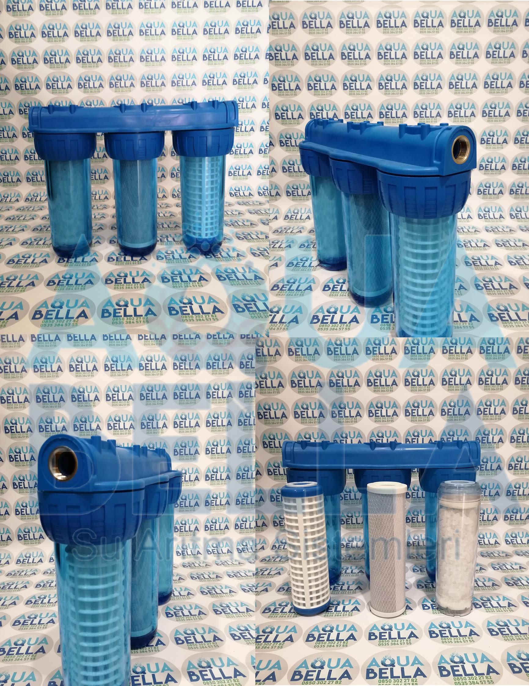 bina girişi su arıtma cihazı