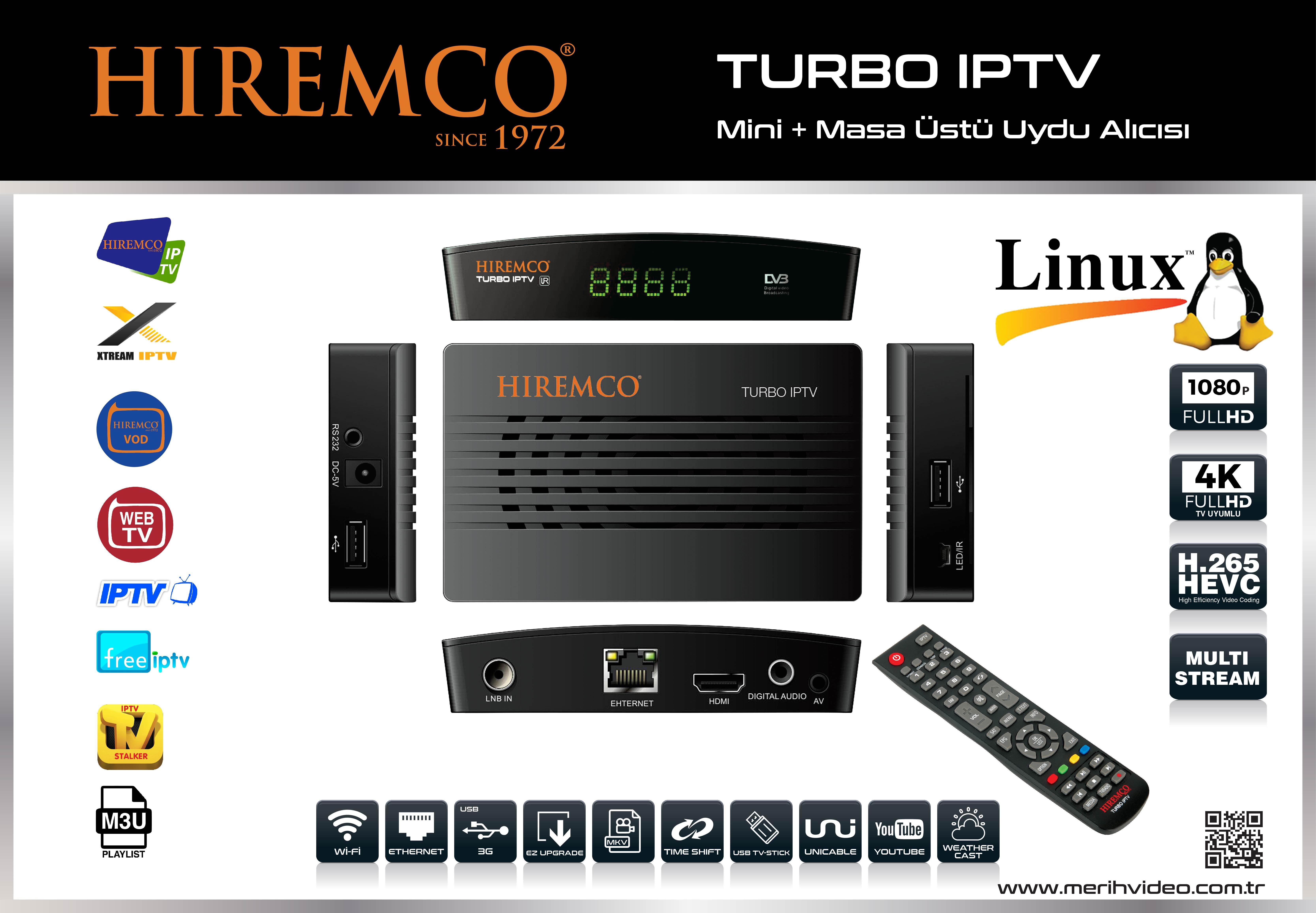 Hiremco Turbo iptv