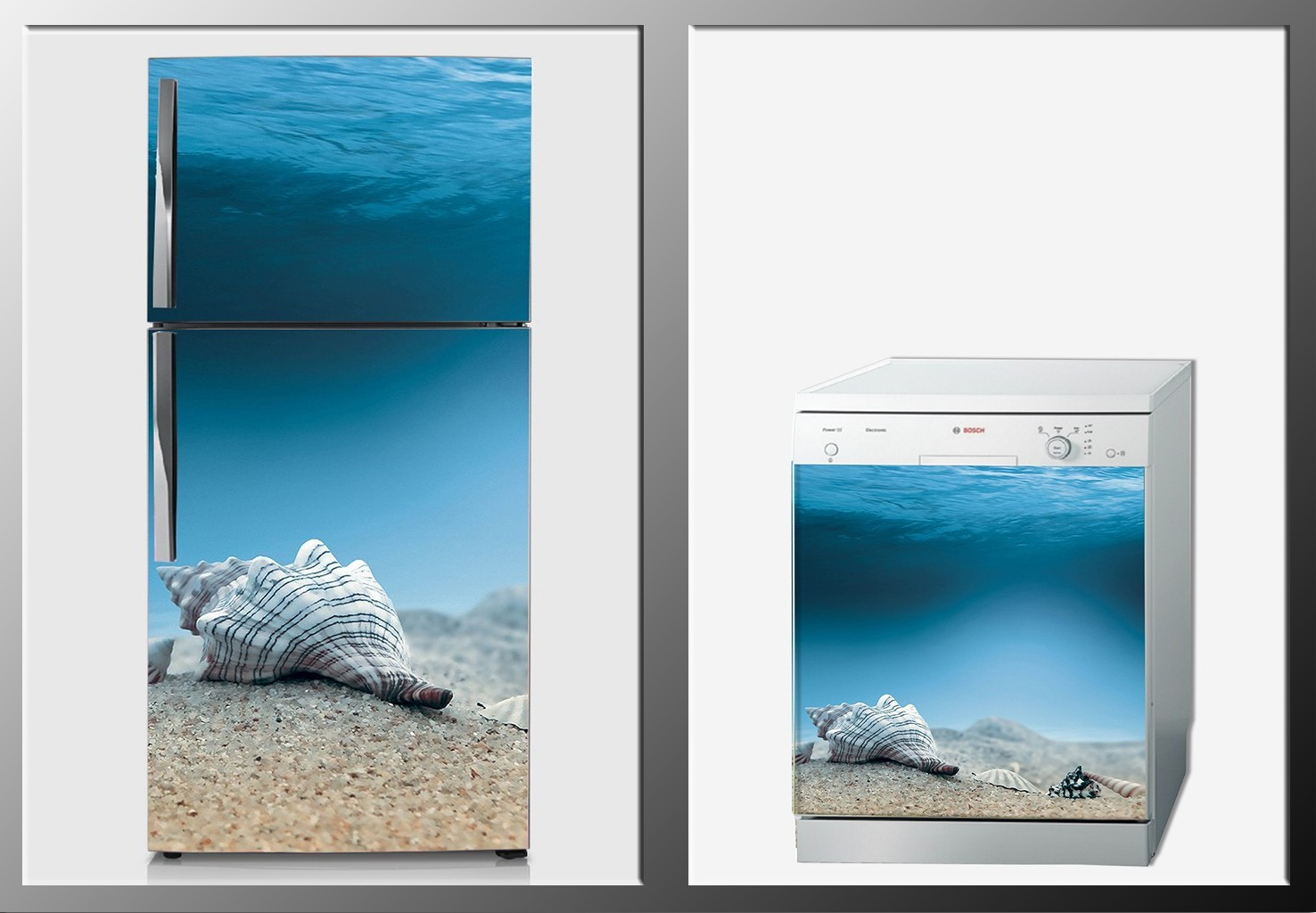 ArtWall Beyaz Eşya Deniz Sticker