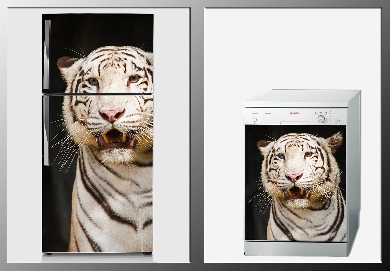 ArtWall Beyaz Eşya Hayvan Sticker
