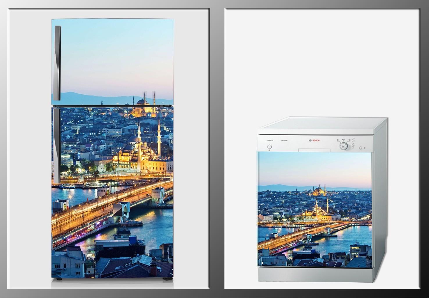 ArtWall Beyaz Eşya İstanbul Sticker