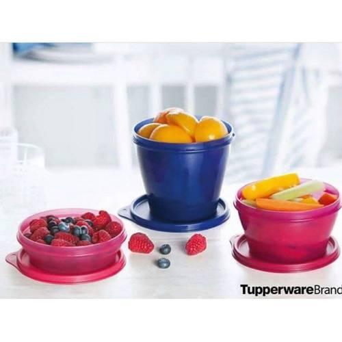 Tupperware klasik mini set 3'lü