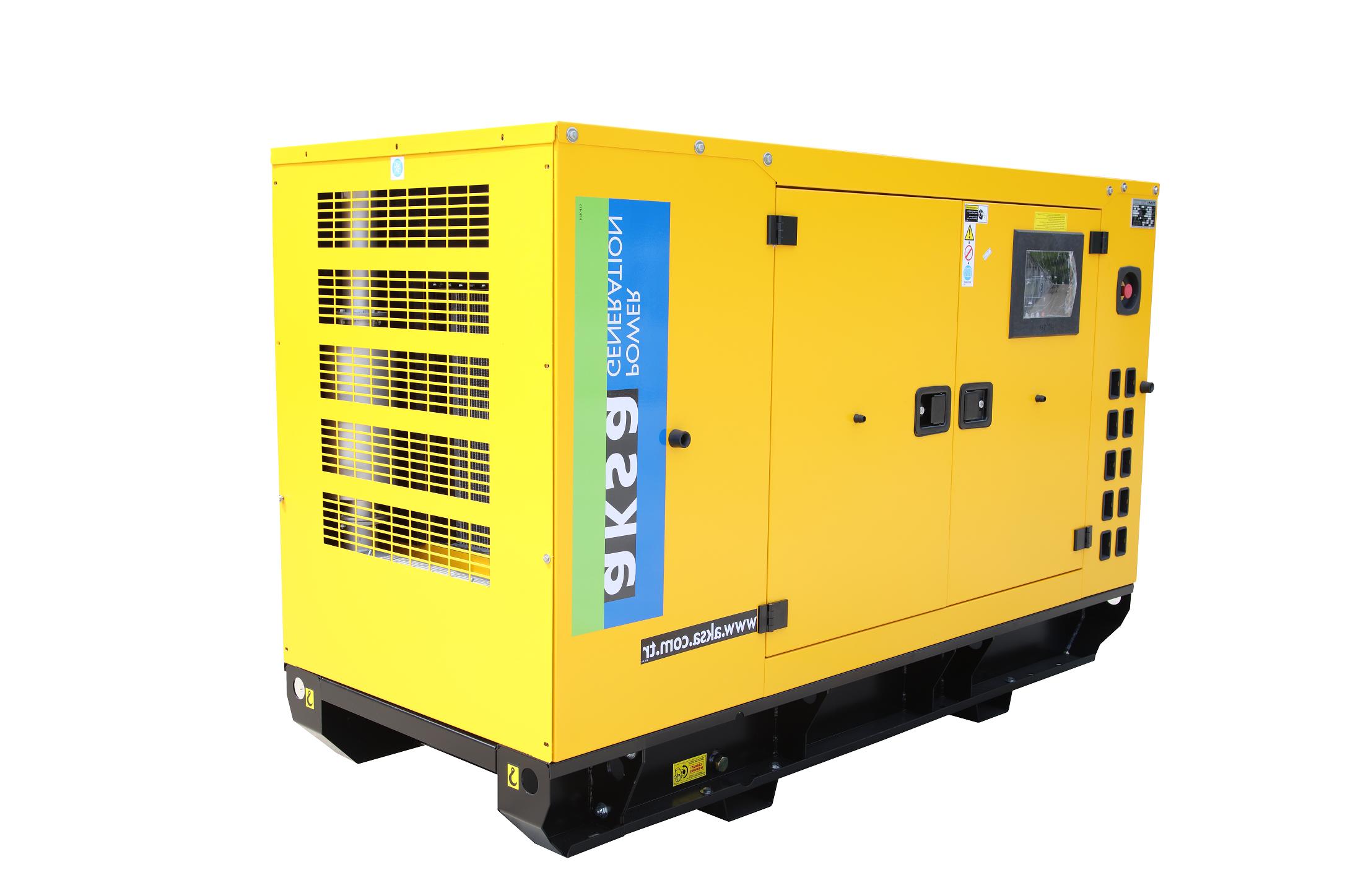 Générateur diesel automatique Aksa 70 kva kraft cabine