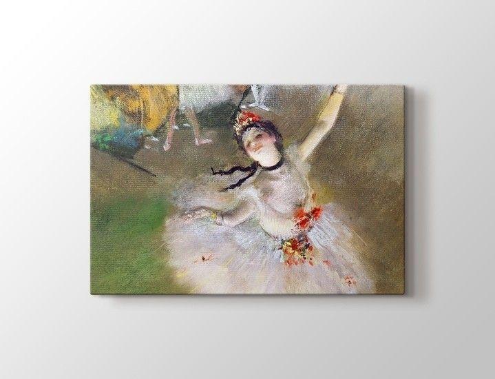 Edgar Degas - Sahnedeki Dansçı Tablo