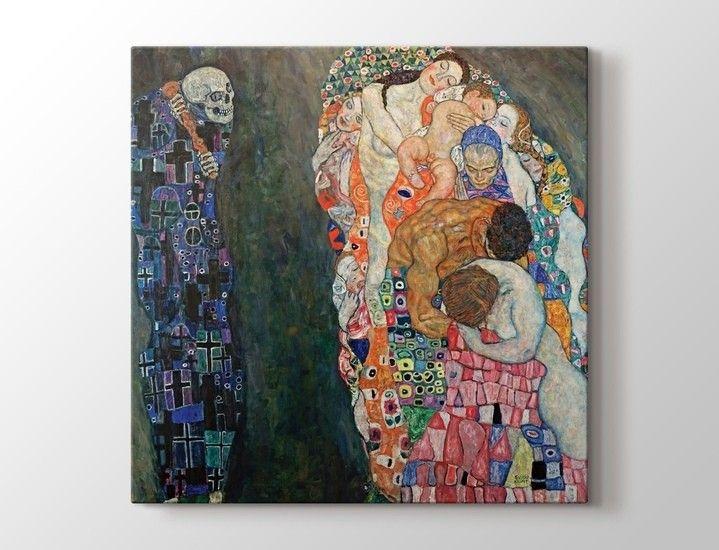 Gustav Klimt - Death and Life - Ölüm ve Yaşam Tablo