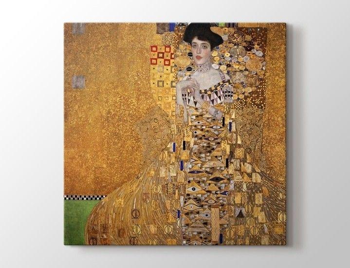 Gustav Klimt - Mrs Adele Bloch-Bauer 1907 Tablo