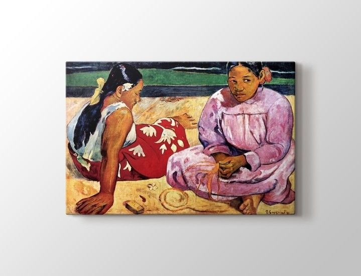 Paul Gauguin - Tahitian Women on the Beach Tablo