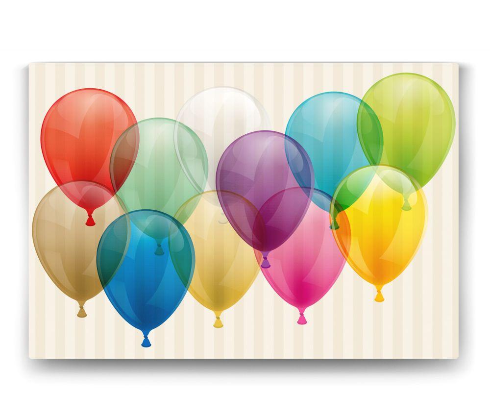 Renkli Balonlar Tablo