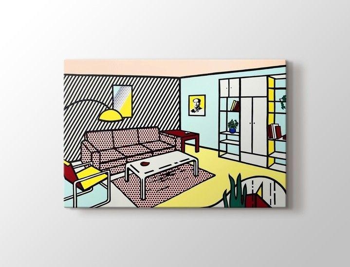 Roy Lichtenstein - Modern Room Tablo
