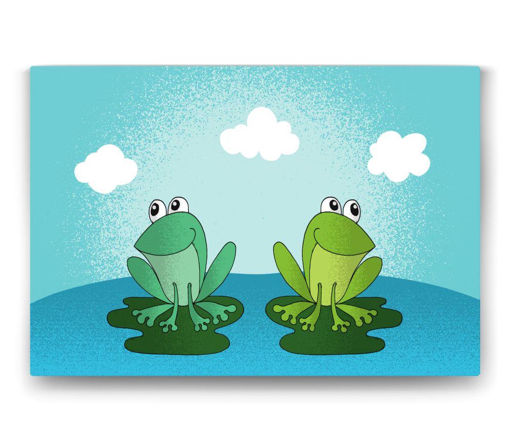 Yeşil Kurbağa Tablo