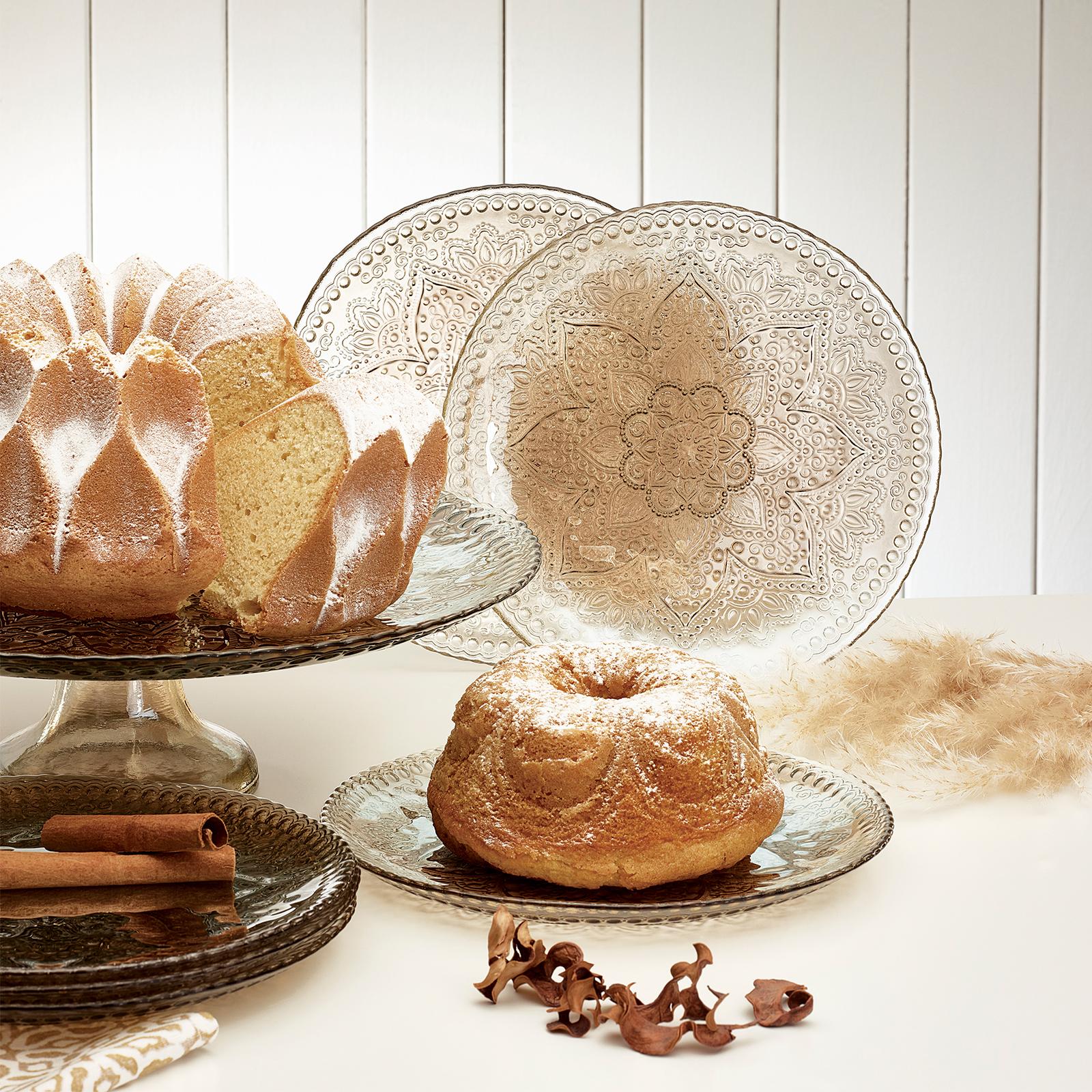 Emsan Semerkant Füme 6 Kişilik Kek/Pasta Seti